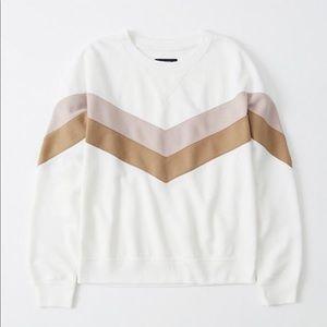 Abercrombie & Fitch brand new crewneck sweatshirt